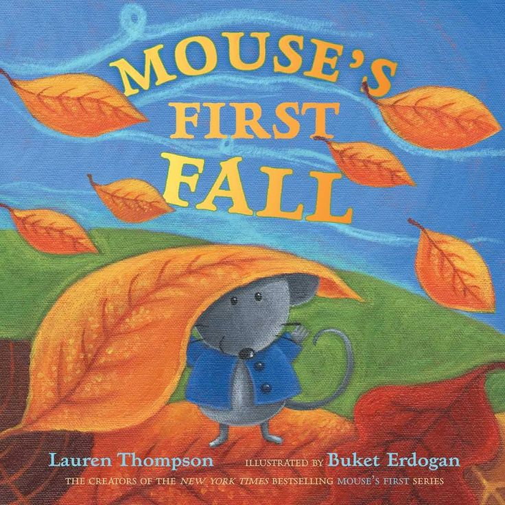 Mouse's First Fall by Lauren Thompson - #books #kids #children #toddlers #illustration #should #read #stories #learning #preschool #kindergarden #coloring