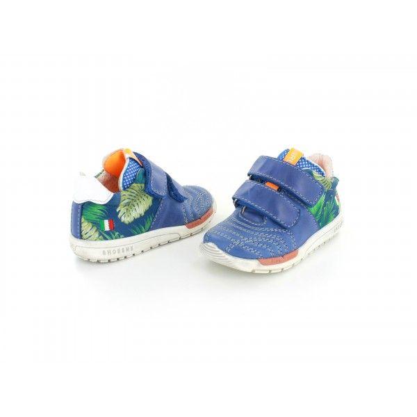 Shoesme jognens RunFlex sneaker kobaltblauw jungle - RF7S050-E - maat 19 t/m 30
