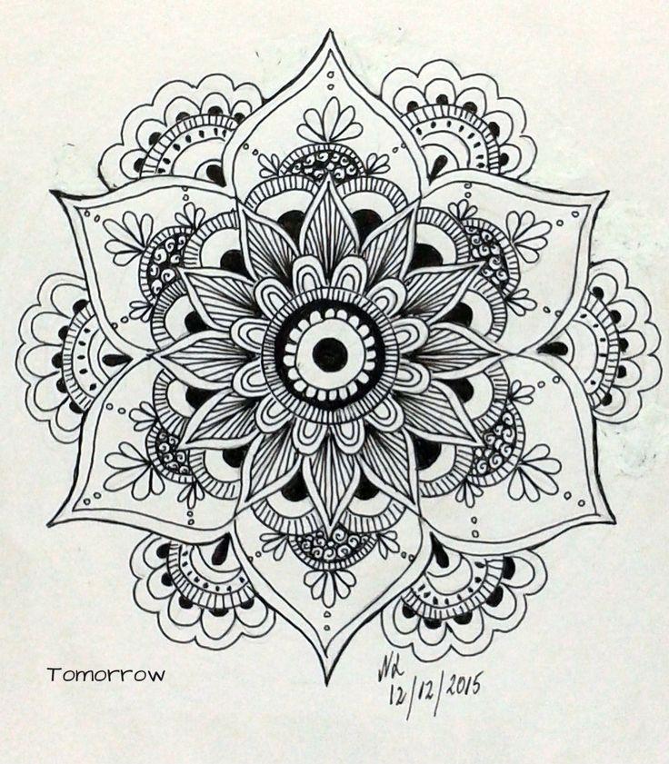 mandala more - Drawing Design Ideas