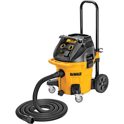 DWV012 10 Gallon Wet/Dry HEPA Dust Extractor with Automatic Filter Clean | DEWALT Tools