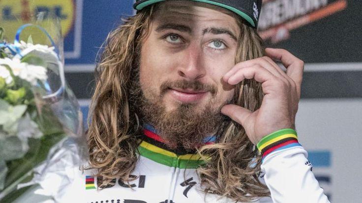 Na snímke slovenský cyklista tímu Bora-Hansgrohe Peter Sagan.   Nový Čas