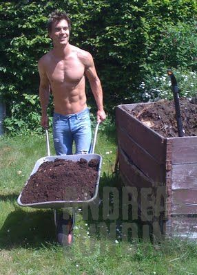 Every garden needs some muscle! Oh Yeah!