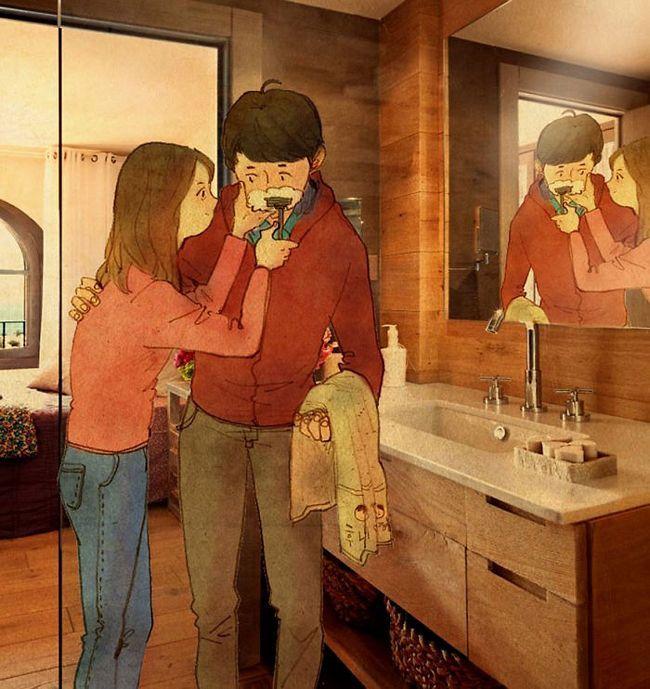 Lembre-se: mais importante do que os grandes e eventuais gestos, são as singelas e espontâneas interações no cotidiano.