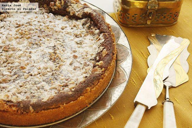 Receta de tarta armenia de nuez moscada