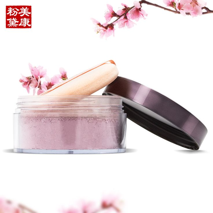MEIKING Peach Blossom Plant Powder Nourishing Loose Powder Skin Makeup Powder 8-Hour Continuous Fix Enhance The Contour Lines