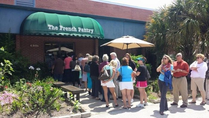 8. The French Pantry in Jacksonville, FL Put on your fancy pants and head to this tres chic cafe in Jacksonville. As expected, they have some of the best pastries and cakes you will ever try, but they're only open for lunch.