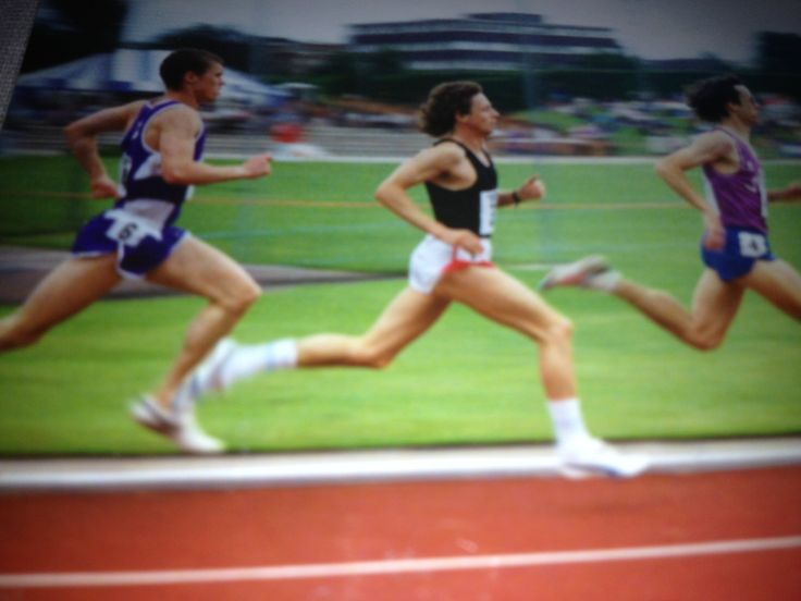 Me back in the Day - race at Loughborough University