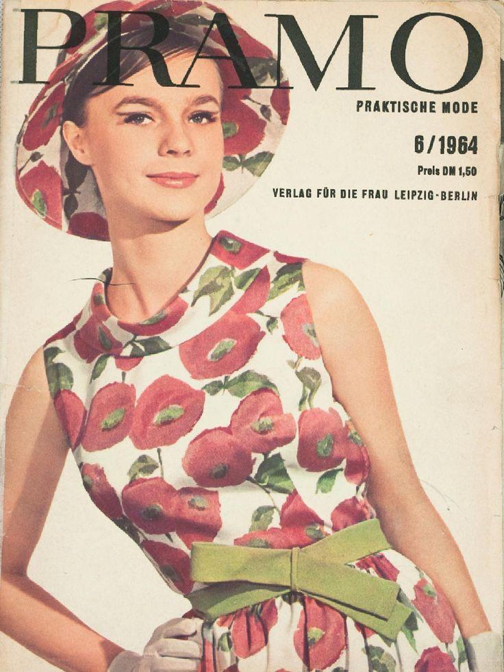 Pramo 6/1964 Praktische Mode from 6,1964. Vintage pattern magazine from my collection. Full scan.