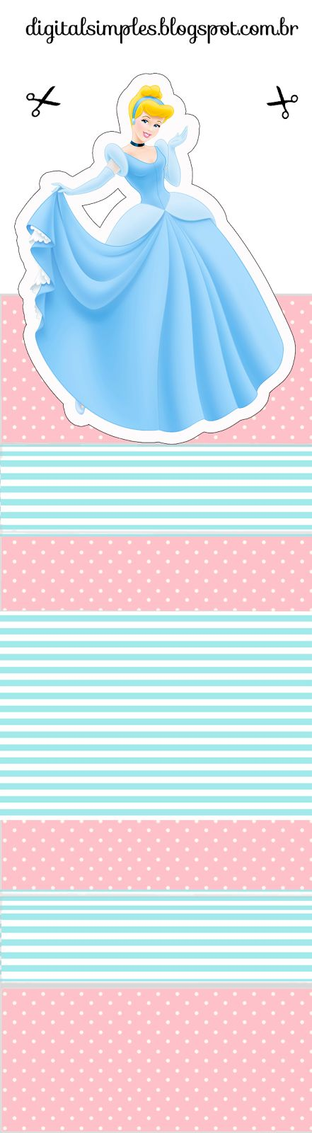 Cinderella Free Printable Original Nuggets Wrappers. | Oh My Fiesta! in english