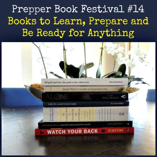Prepper Book Festival #14 includes the latest books to teach you how to be better prepared and more self-sufficient.  http://www.inthewilderness.net/