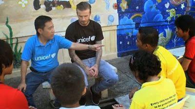 cotibluemos: Beckham crea junto a UNICEF el Fondo '7'