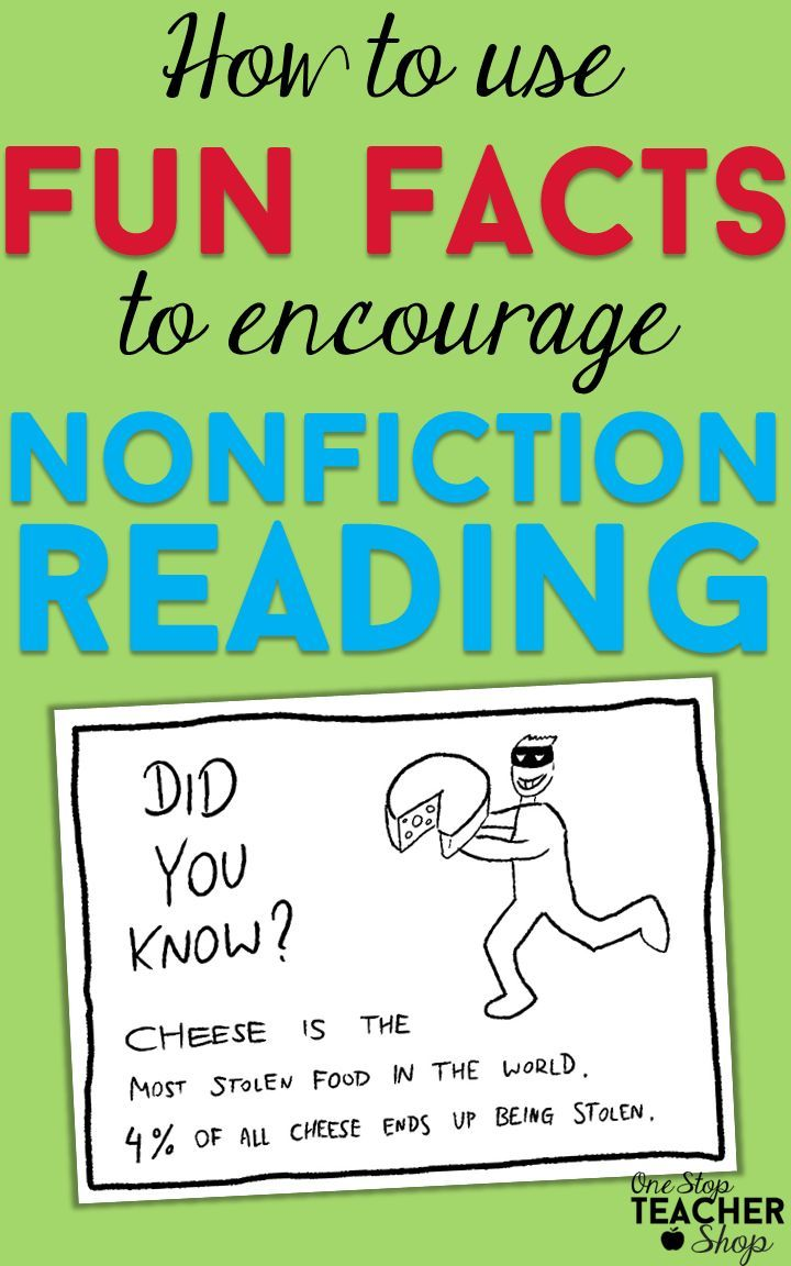 Get Your Students Reading More Nonfiction With This Fun Fact Fridaye  See How I