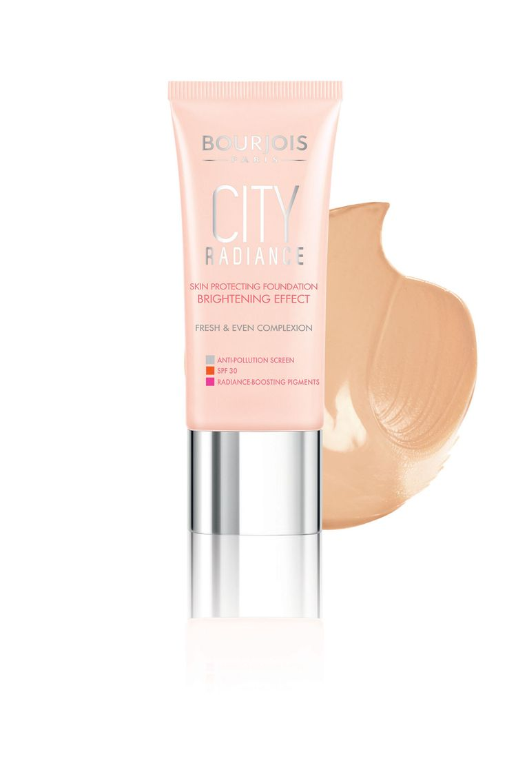 Best foundation Bourjois City Radiance Foundation, £9.99 - Best Foundations