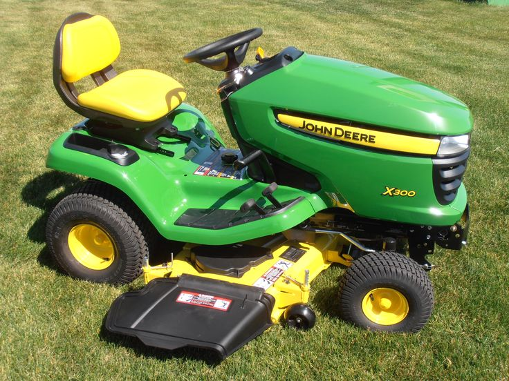 john deere x300 riding lawn mower buy online at http. Black Bedroom Furniture Sets. Home Design Ideas