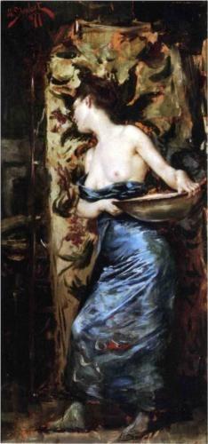 Half Naked Woman - Julius LeBlanc Stewart