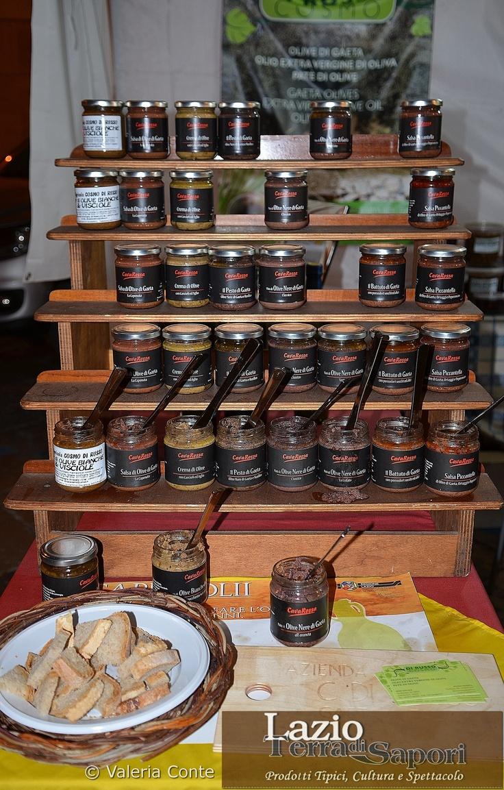 Patè di Olive di Gaeta a Lazio Terra di Sapori