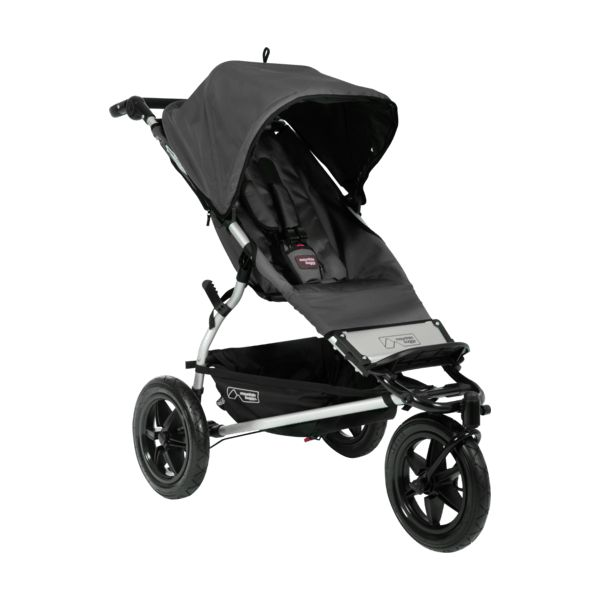 Travel Buggy With Sunroof Image Of Urban Jungle All Terrain Stroller In Black