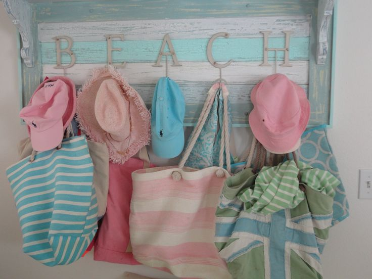 A place to hang your hat and bag #cottage #design