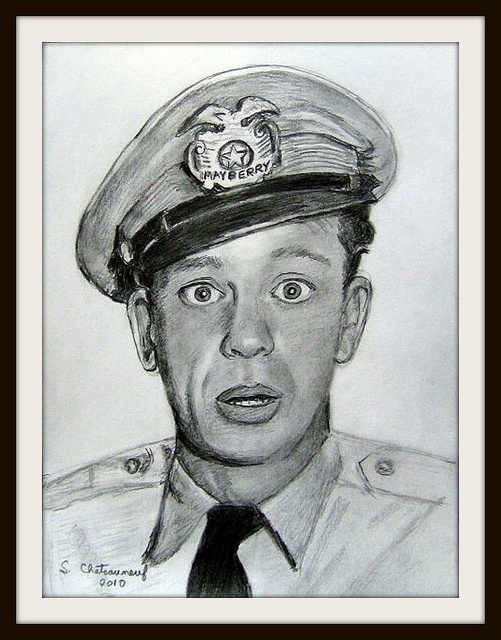 Don Knotts (Barney Fife) - Pencil Drawing by snc145 - Photo by snc145 This is a pencil drawing I've done. The size is 9x12. Here is a link to the original photo I used. tvlistings.zap2it.com/tv/the-andy-griffith-show/photo-gal...