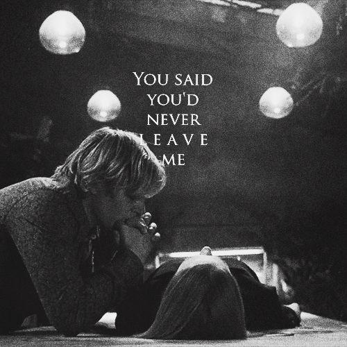 dijiste que nunca me dejarias