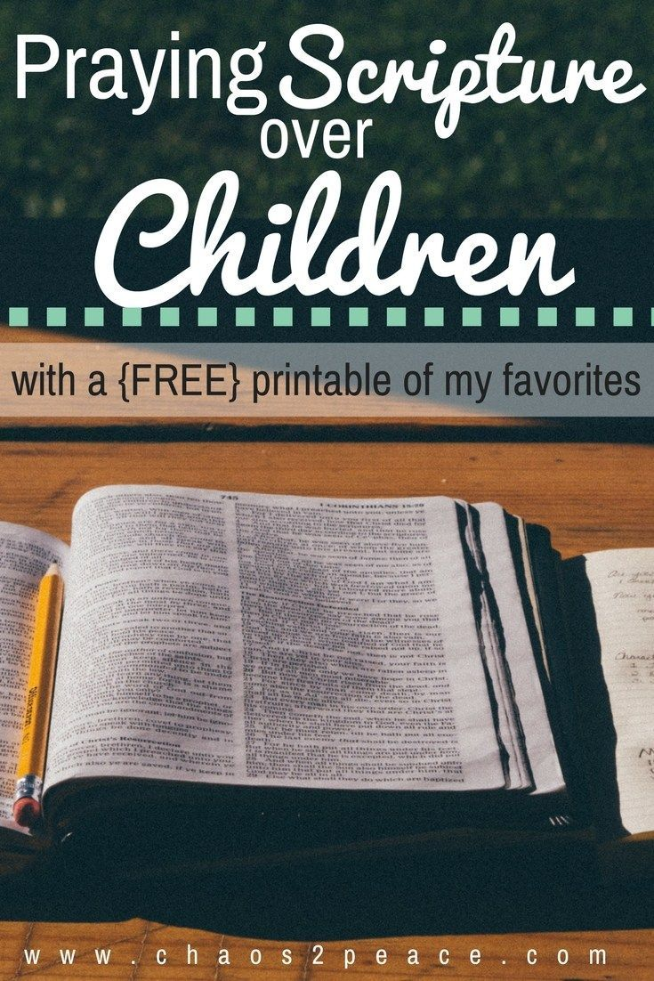 As a mom, nothing brings me more joy that praying over my children. Praying scripture, the Word of God, over your children can be easy.