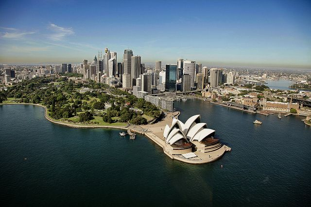 Sydney Opera House aerial 2010 by ImageFactory©, via Flickr