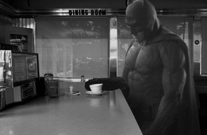 batman triste parodie batman vs superman ben affleck 11   Le batman triste devient un meme   Zach Snyder triste superman photoshop photo par...