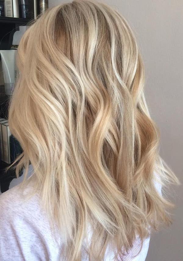 A few steps to a wonderful blonde balayage – hair&makeup.
