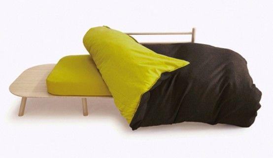 Красочная И Удобная Трансформируемая Мебель Для Сидения И Для Сна | DigsDigs