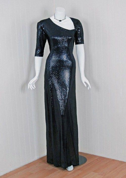 Dress by Halston, 1970s