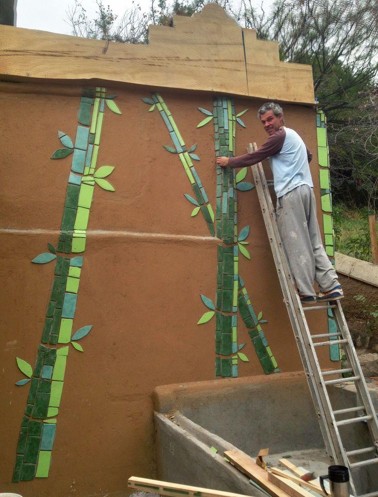 Haciendo Bamboo forest en casa Rama