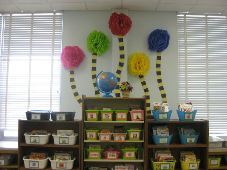 dr seuss theme for classroom | this year i added truffula trees to my dr seuss themed classroom here ...
