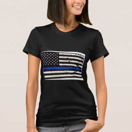Blue Line T-Shirt - tap, personalize, buy right now!