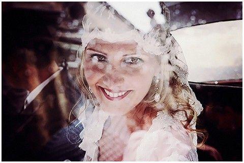 Floriane Caux lace veil