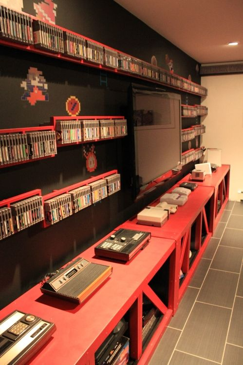 maximus_clean's Donkey Kong game and console shelves