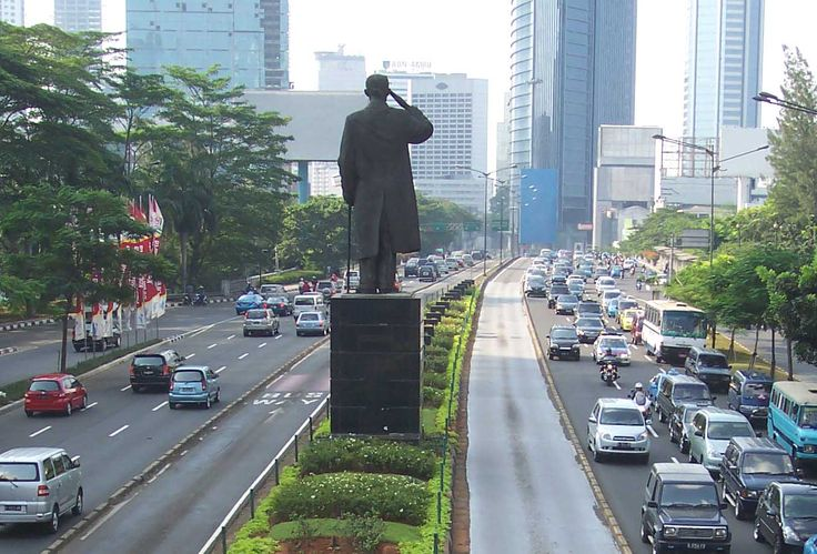 Jakarta ... the city never sleep .. and the traffic jam never stop !