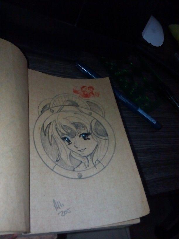 Manga girl #manga#drawing#sketch