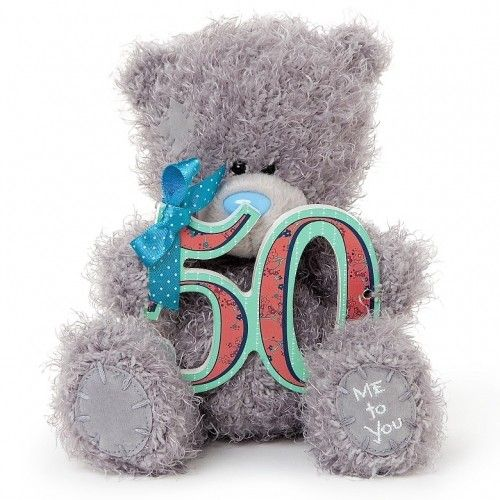 Tatty Teddy Bear Me To You 50th Birthday Bear Available @ Li'l Treasures $23. (International Shipping available)