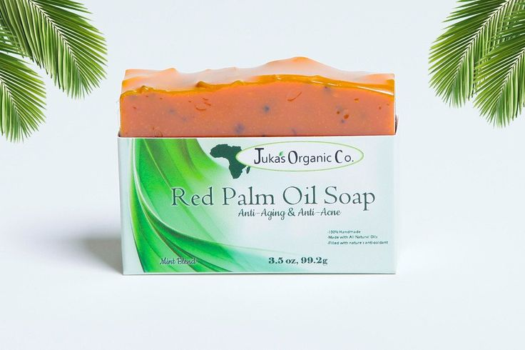 Red Palm Oil Soap (Anti-Aging & Anti Acne). Clear your skin today with all natural red palm oil soaps.