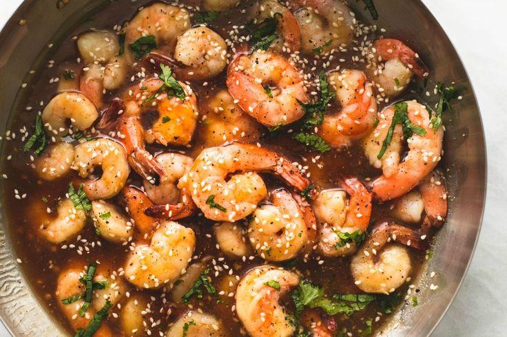 Sesame Teriyaki Shrimp