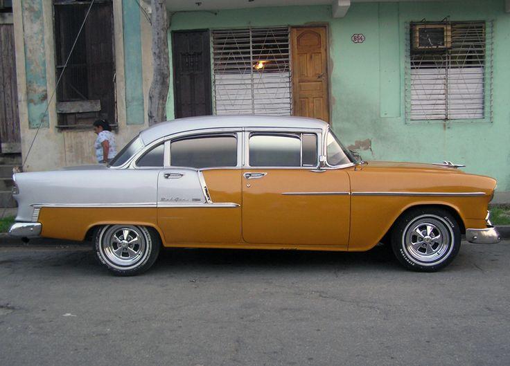 Chevrolet BelAir de 1955. La Habana. Francisco Vies