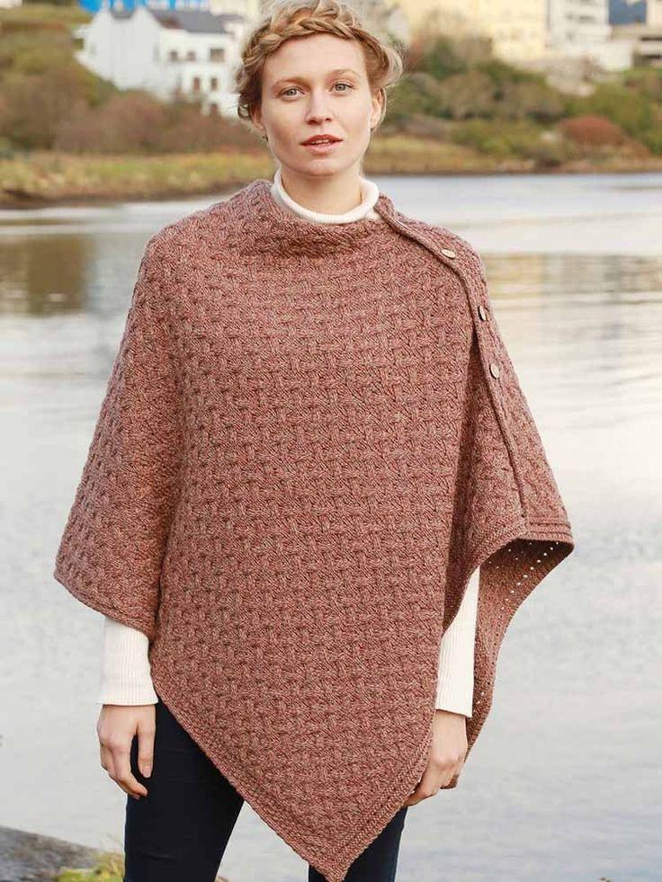 Super Soft Merino Wool Aran multiway wrap