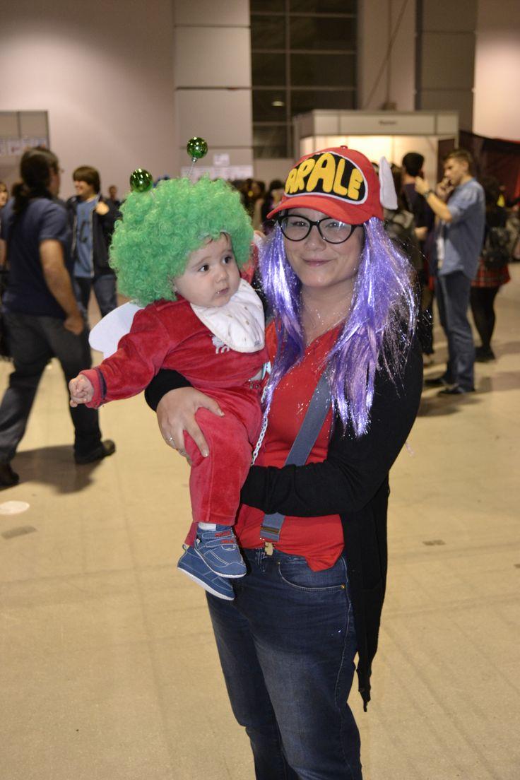 Arale + Baby