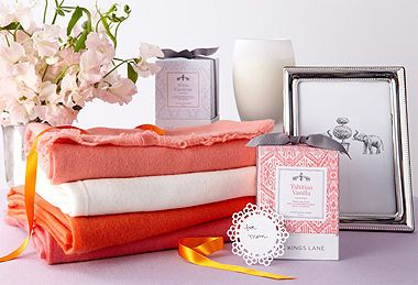 Coral hued gifts are great this time of year.