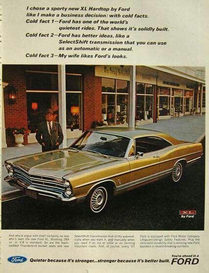 1967 Ford Galaxie 500 XL 2-Door Hardtop