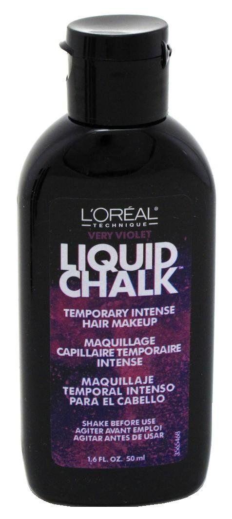 how to make liquid hair chalk