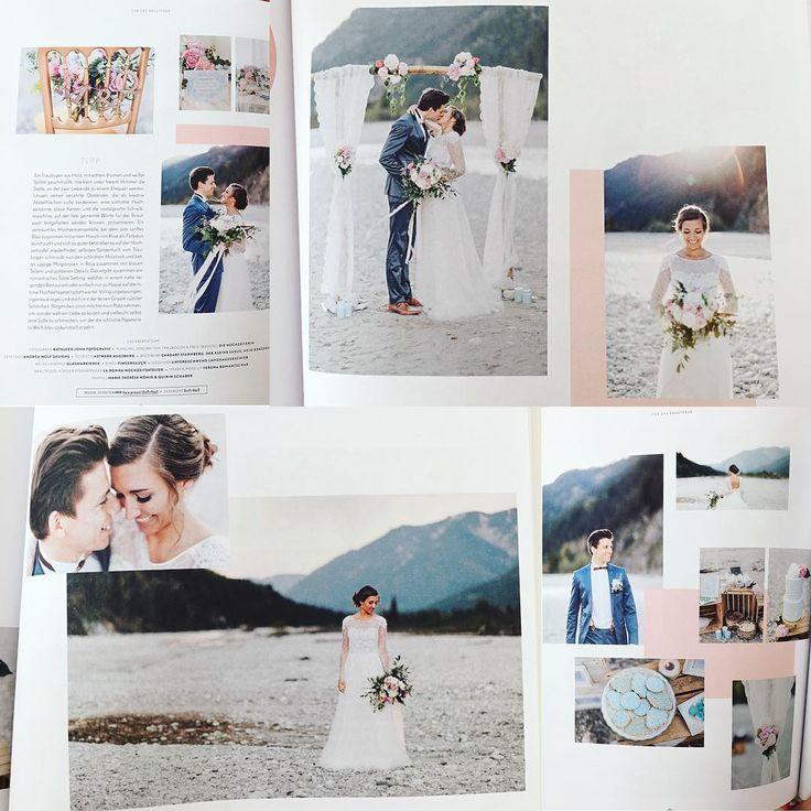 Ganze vier Seiten in der aktuellen Ausgabe vom @hochzeitswahn -Magazin �� Es war ein tolles Shooting und hat viel Spaß gemacht!  @q.xs  @kathleenjohn @verena_rom @diehochzeiterin  #Munich #münchen #model #shooting #photography #hochzeit #hochzeitskleid #wedding #weddingdress #isar #love #magazine #article #openair #liebe #bride #braut #couple #flowers #bayern #alpen #white #blue #instamood #instalove #instagood http://gelinshop.com/ipost/1524831444622818924/?code=BUpSh63Fr5s