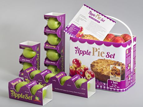 Packaging multinational NNZ has, in cooperation with Schut Systems and Pillopak, developed a unique packaging for apples.