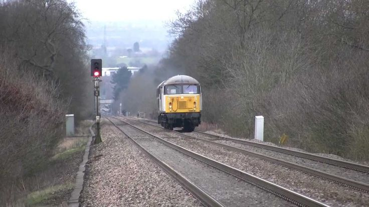 56091 Test Run *Exhaust Fire* at Barnt Green (Plus climbing the Lickey),...