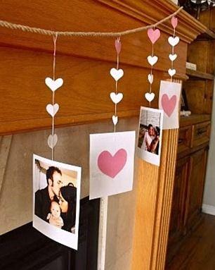 Really cute valentine garland